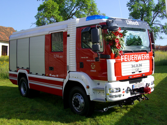 TLFA 4000 - Tanklöschfahrzeug